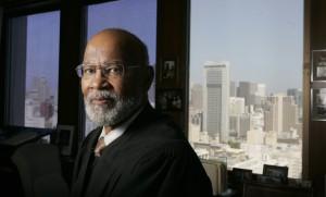 US District Judge Thelton Henderson Photo by Jason Doiy 8-24-05 036-2005