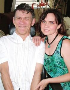 Сергей Сапоненко со своей женой Тамарой