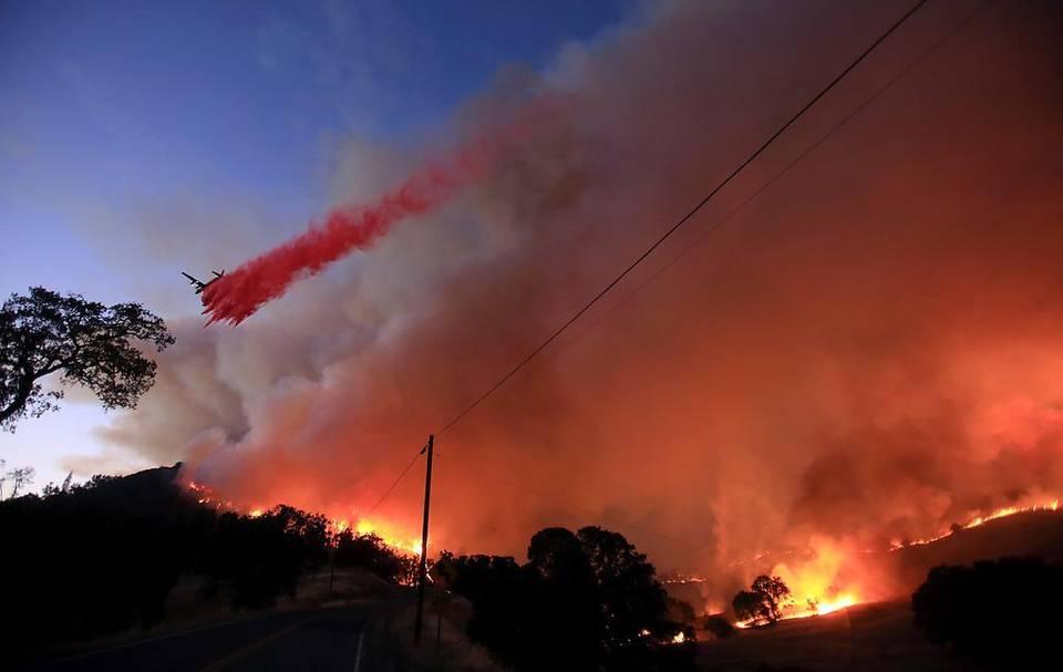 APTOPIX-California-Wildfire
