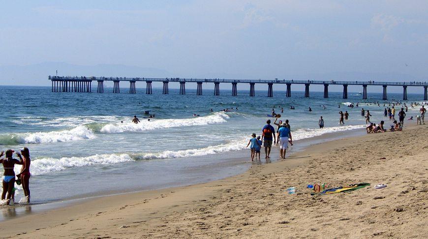 Пляж во лос анджелесе 71