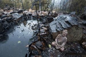 Лесной пожар в Калифорнии, убивший 4 человек, наконец потушен