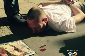 Российского туриста ранил голливудский бомж