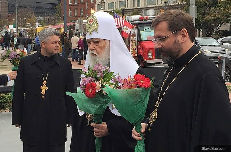 holodomor-memorial-ukrainian-Patriarch-Filaret