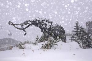 Рекордный зимний шторм обрушился на Калифорнию