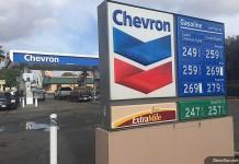Цена на бензин в Сакраменто