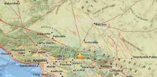 Землетрясение в Сан-Бернардино