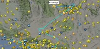 Самолет в Сакраменто