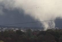 Торнадо в Калифорнии