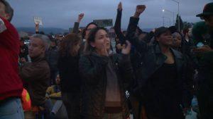 В Окленде протестующие афроамериканцы перекрыли 880 шоссе