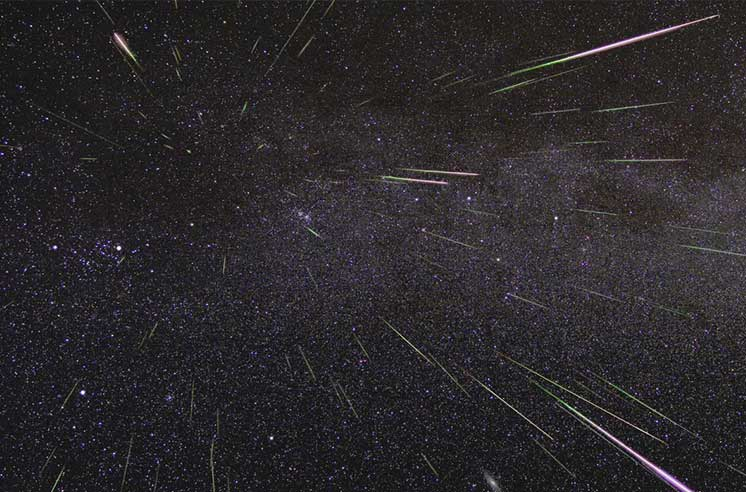 Вночь навоскресенье пройдет ежегодный «звездный дождь» Персеид