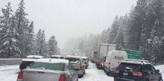 Снег в Сьерре