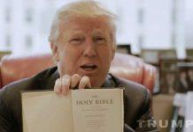 Дональд Трамп религия