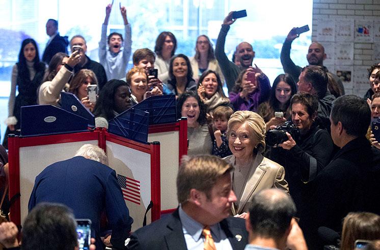 Опрос: Для Польши Клинтон былабы лучшим президентом США
