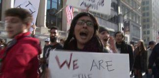 протестов в Орегоне