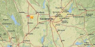 землетрясение в Сакраменто