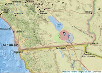 Землетрясение в Южной Калифорнии
