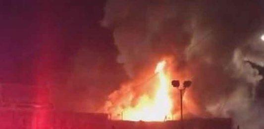 пожара в Окленде