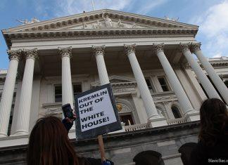 Протесты против Дональда Трампа