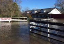 наводнение в Сакраменто