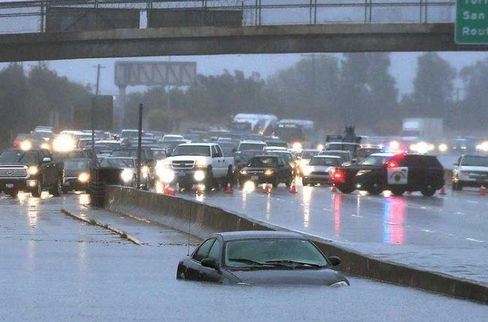 шторм в США