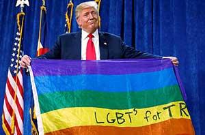Трамп защитит церкви от навязчивой идеологии ЛГБТ