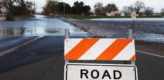 Наводнениe в Сакраменто