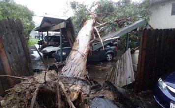 шторм в Калифорнии
