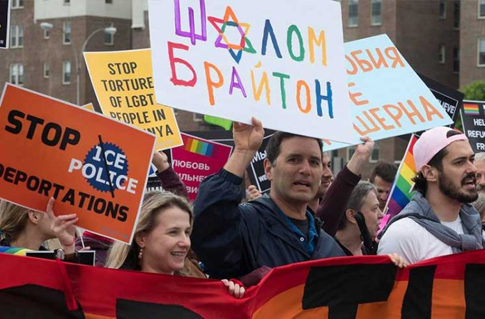 Brighton Beach Gay Pride March