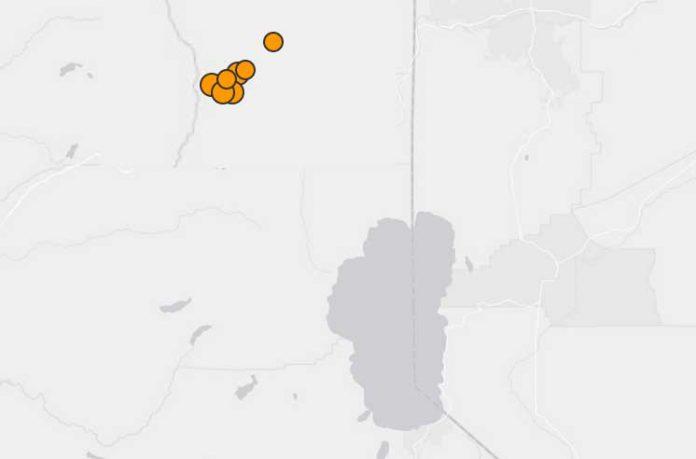 землетрясениe в Калифорнии