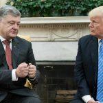 Дональд Трамп встретился с Петром Порошенко