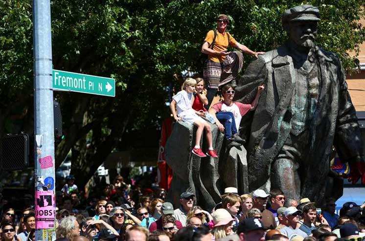 Статуя Ленина в Сиэтле